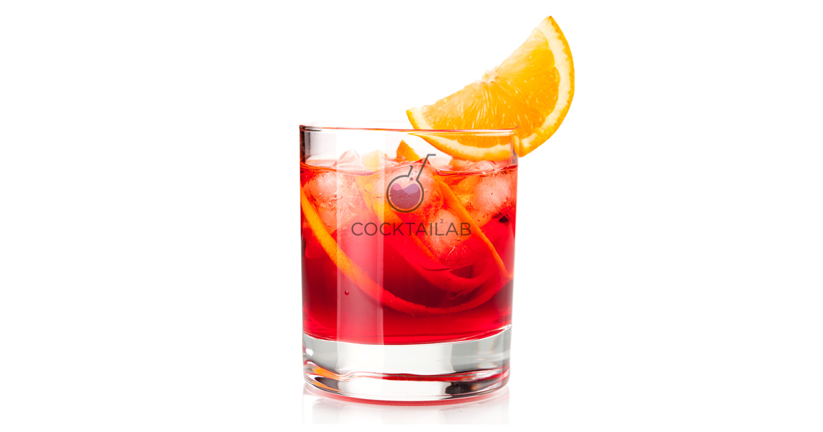 Negroni Cocktail Recipe | Cocktail Lab | Cocktail Recipes