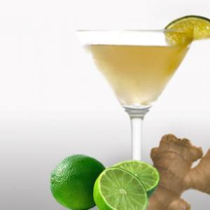 Ginger Martini Cocktail