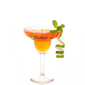 Strawberry Mint Margarita Cocktail